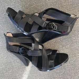 Michael Kors Shoes - Michael Kors high heeled sandals 8.5